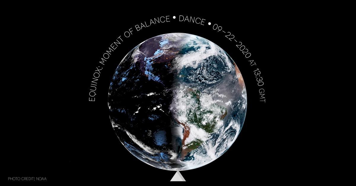 Dançando o Equinócio: 22/09, às 10h30